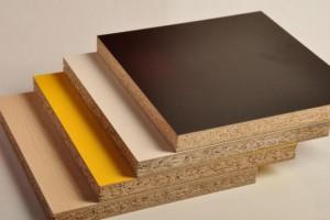 刨花板三聚氰胺饰面板柜体板免漆板定制厂家