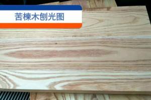 苦楝木烘干板商品