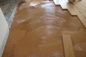 实木地板3种铺贴方法