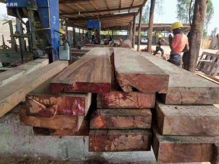 非洲黑酸枝5公分板和12.5公分厚板