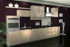 装修中的橱柜样式和厨房橱柜材料选择