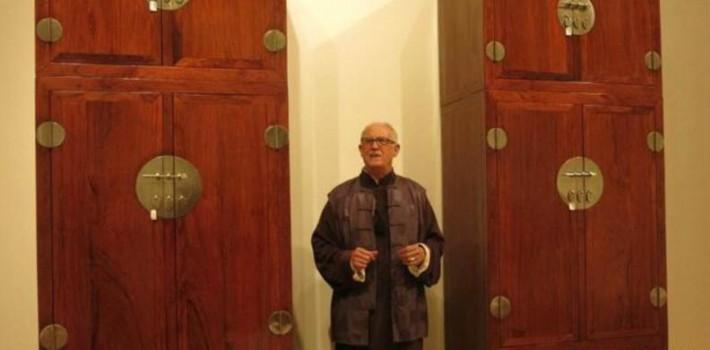 「经典」苏富比2016年春季拍卖会费立哲神父珍藏中国古典家具专场-木质防火门