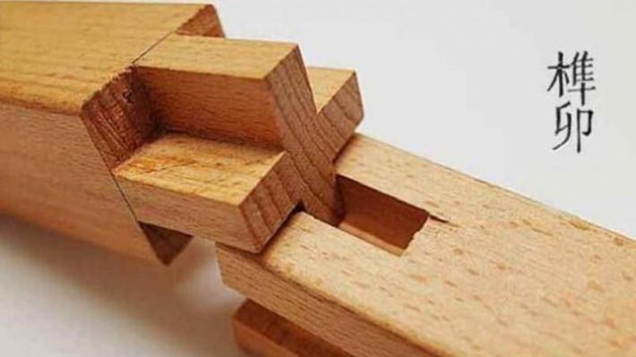 中国木工文化遗产,藏在木头里的灵魂:榫卯sǔn mǎo-木制工艺品