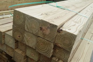 南方松防腐木户外实木方木条可定做