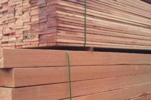 柳桉木花架 栏杆扶手 防腐木地板 葡萄架 亭子材料加工