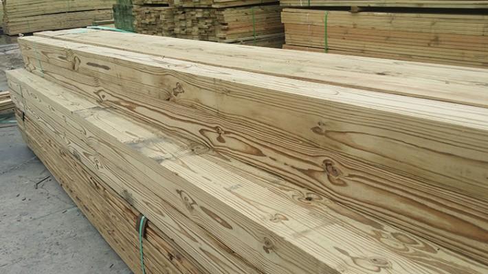 南方松防腐木,户外南方松实木木方,南方松木条可定做