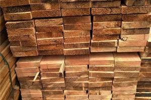花旗松建筑木材最新价格