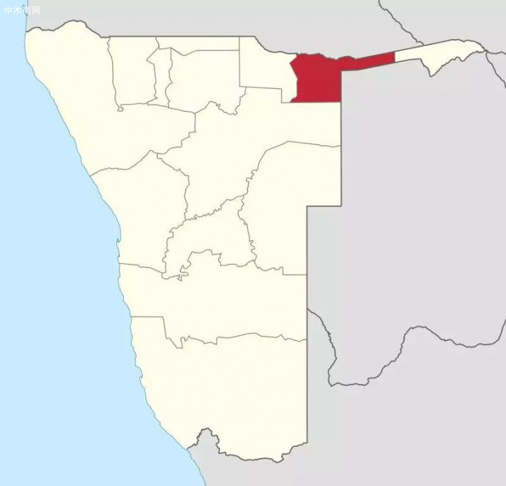 在纳米比亚,东卡万戈(Kavango East)