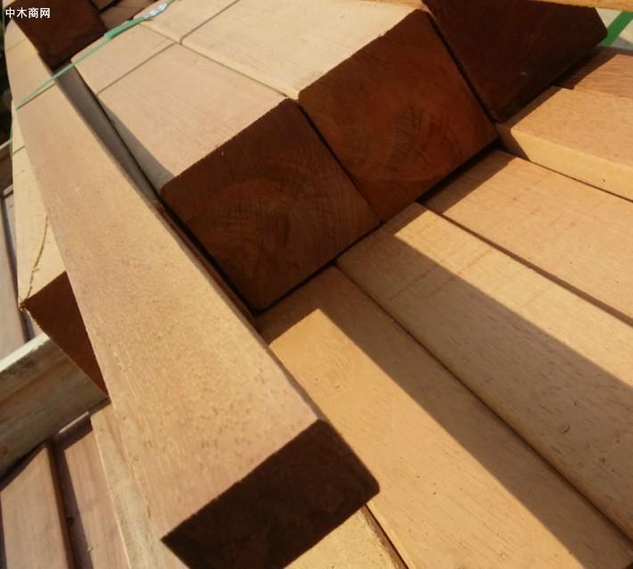 实木巴劳木户外防腐木,木方,木条