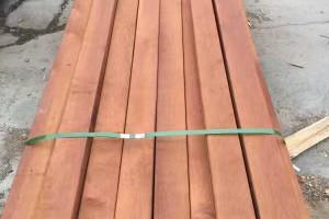 印尼菠萝格木地板,阳台户外平台地板,防滑槽地板,拉丝室外内地板