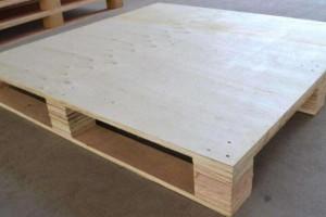 连云港订做胶合托盘 木托盘 机械包装 钢带箱