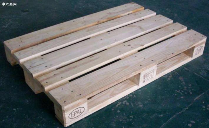 连云港单面木制托盘价格 木托盘 机械包装 钢带箱