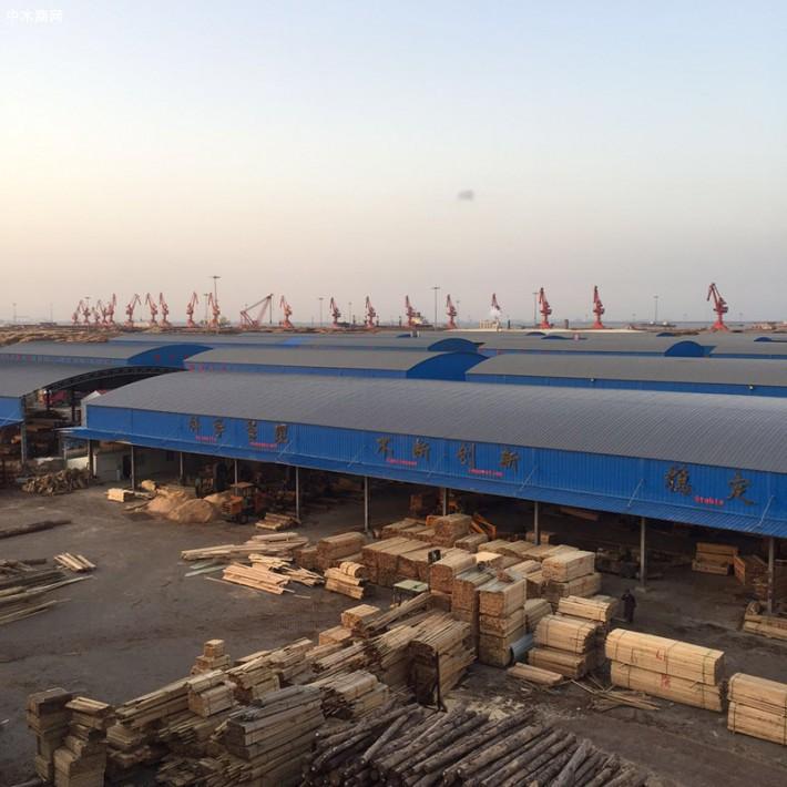 江苏省太仓市万方国际码头,龙达木材产业园(创秋木业)
