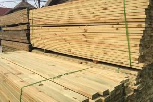 樟子松防腐木木方龙骨户外防腐木地板栅栏庭院葡萄架廊架实木板材