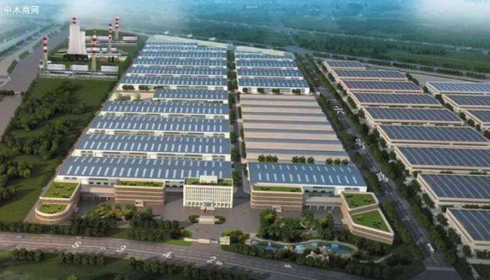 日照岚山经济开发区推动木材产业转型升级