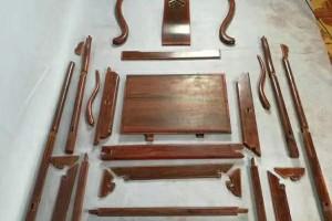 印度小叶紫檀圈椅组件