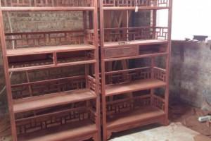 赞比亚血檀装饰柜