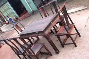 大红酸枝餐桌椅子红木家具厂家直销