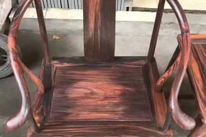 大红酸枝圈椅红木家具高清图片