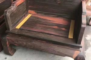 大红酸枝十件套宝座沙发红木家具高清图片