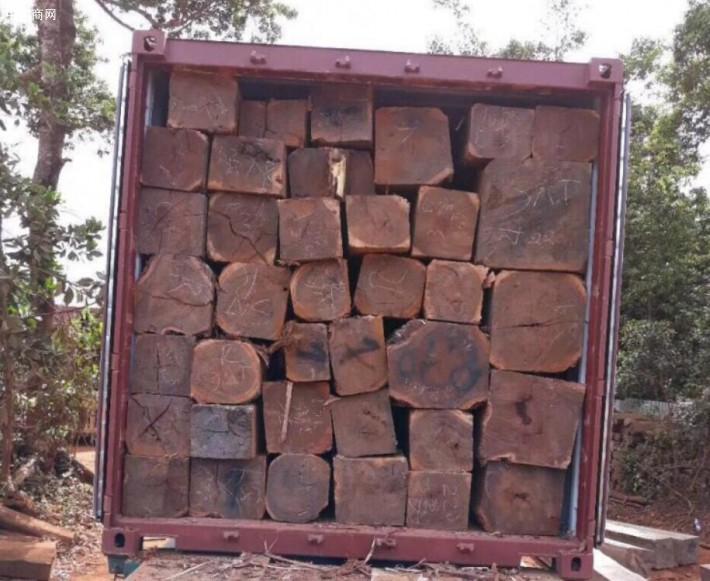 求购:柬埔寨黑酸枝原材料