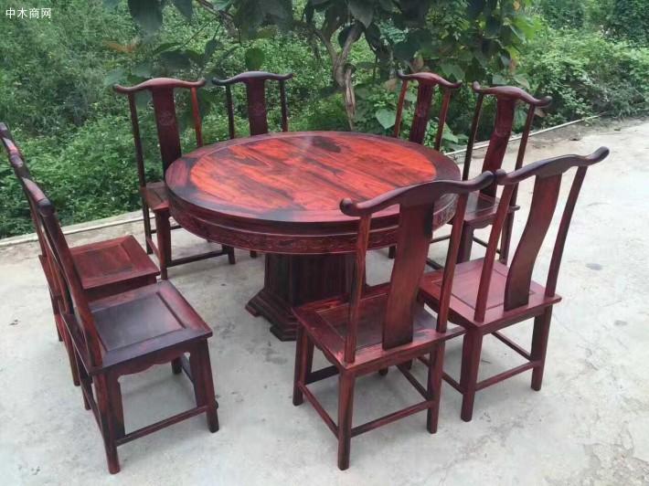 大红酸枝十大红木家具品牌企业