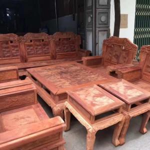 缅甸花梨火焰纹十件套沙发十大品牌