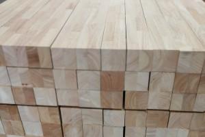 印尼橡胶木刨光规格料高清图片