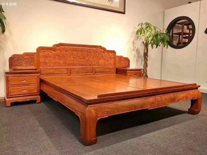 年年红红木家具集团不仅能为小户型提供所有红木家具种类