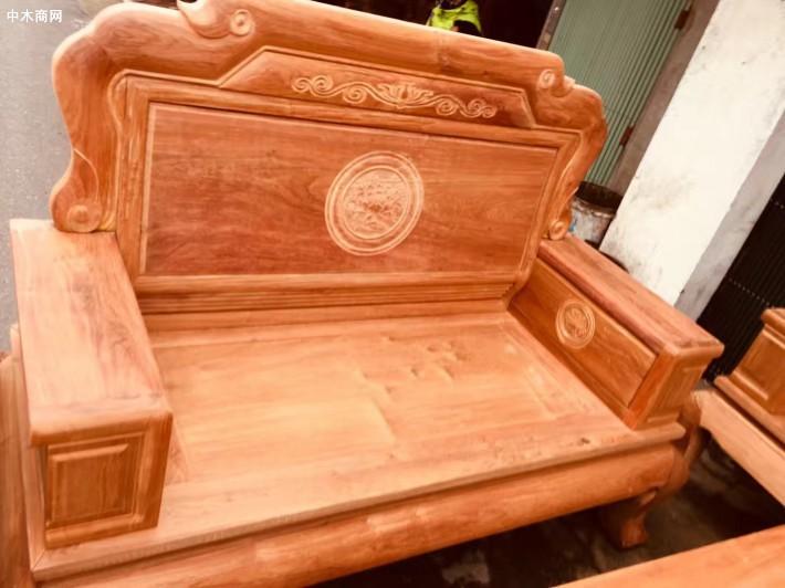 缅花沙发红木家具厂家