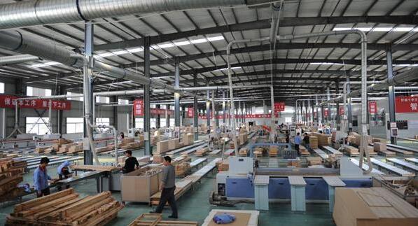 江苏邳州官湖镇板材生产企业约2000家