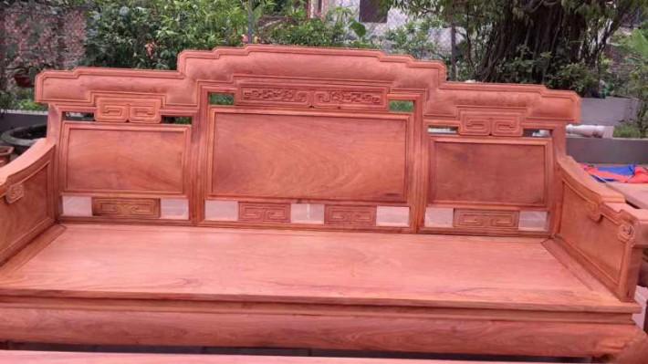 缅甸花梨木红木家具客厅沙发 缅花十件套步步高沙发图片