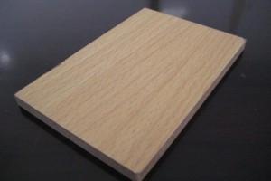 密度板贴皮地板崭露头角