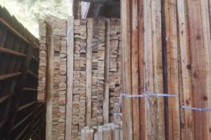 原木加工杉木松木建筑木方,板材