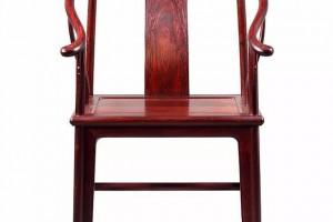 紫檀素圈椅