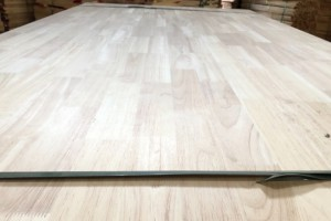 泰国橡胶木指接板&直拼板