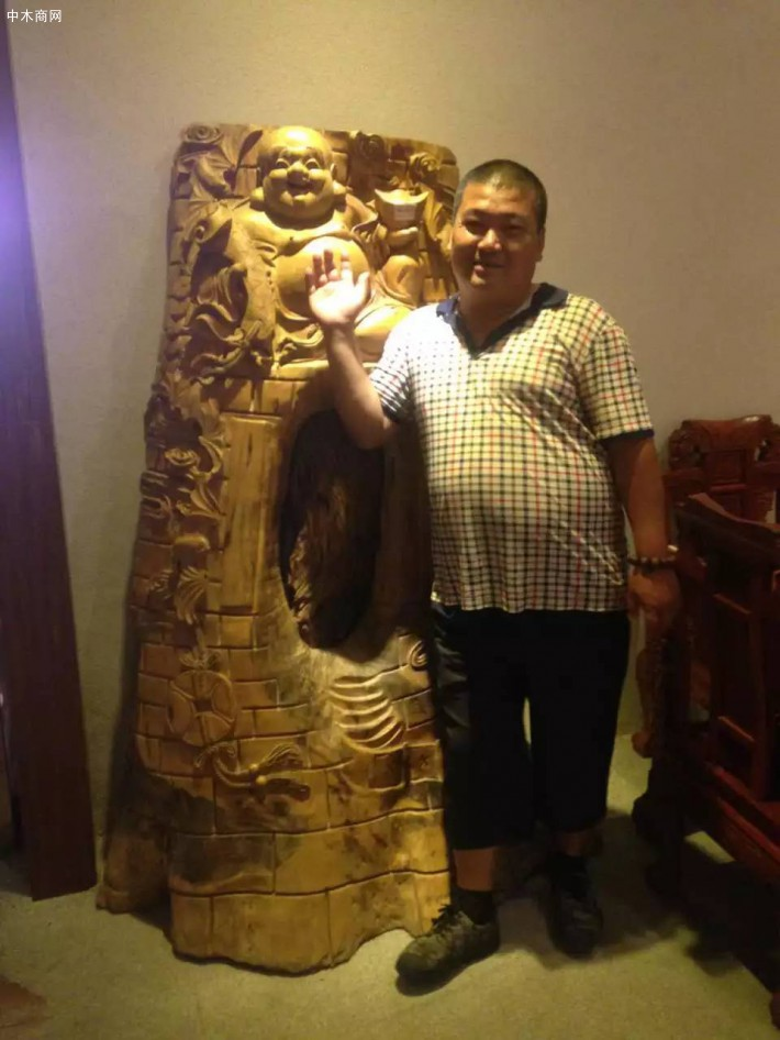 中印木材贸易方总