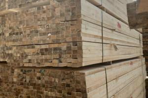 太仓辐射松实业白松建筑木方高清图片