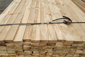 太仓市辐射松实业铁杉建筑木方高清图片