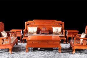 安徽合肥哪里可以买到正宗的红木家具客厅沙发