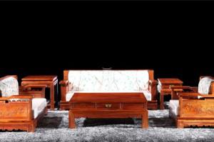 山西哪里可以买到正宗的红木家具客厅沙发