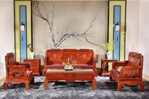 江西上饶哪里可以买到正宗的红木家具客厅沙发
