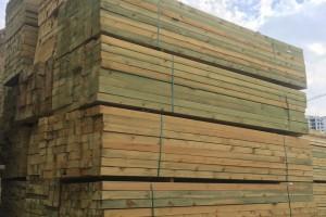 俄罗斯樟子松防腐木板材高清图片欣赏