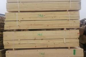 铁杉澳松建筑木方四面抛光建筑木方加工土木工程建筑工地加工定制