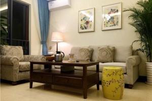 艺术漆+红橡木家具,他家79平不大,三房空间好看又实用!