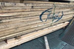 进口北美白橡木实木板材实物图片