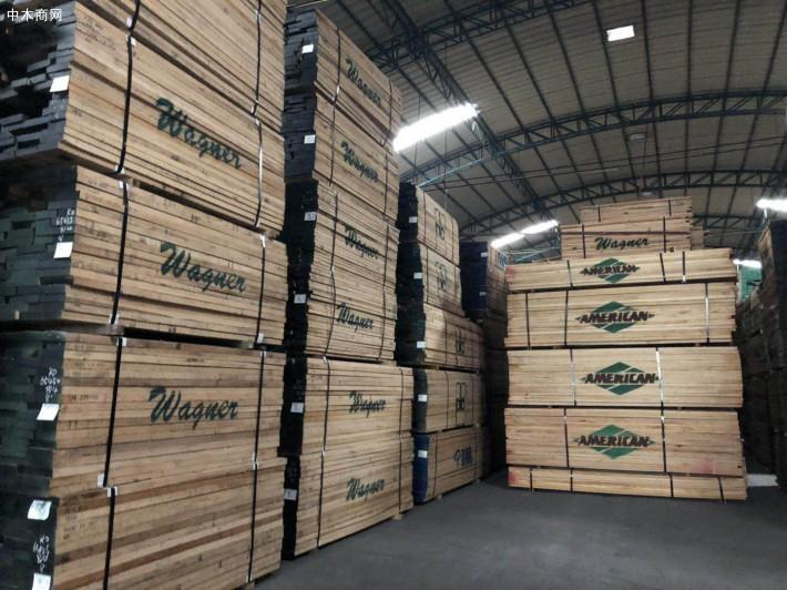进口北美红橡木板材厂家直销
