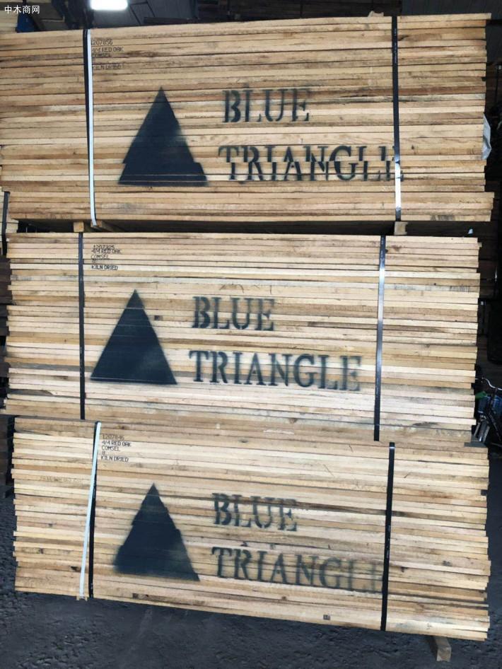 进口北美红橡木板材