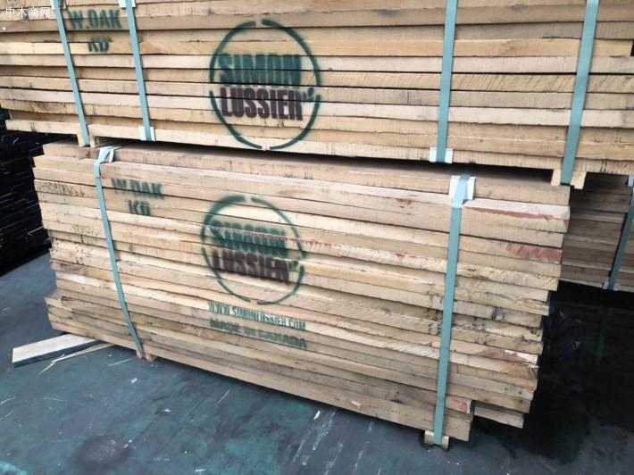 进口北美白橡木实木板材厂家直销