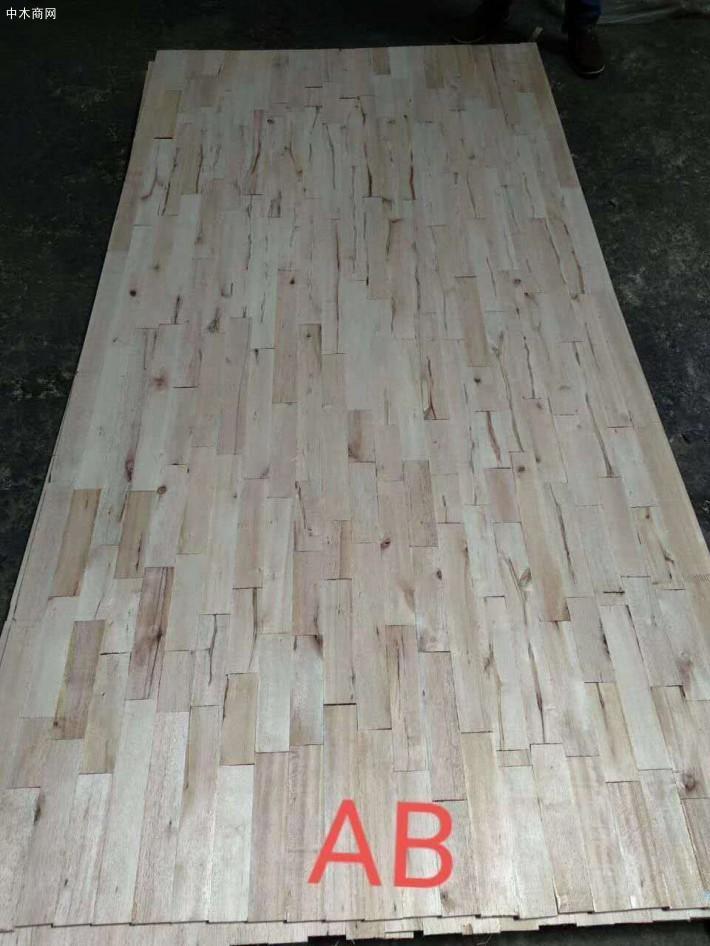 进口马六甲芯板主要用于生产细木工板
